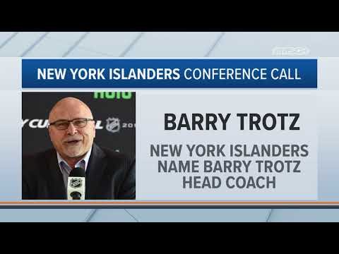 Barry Trotz on Becoming Isles Head Coach | New York Islanders | MSG Networks