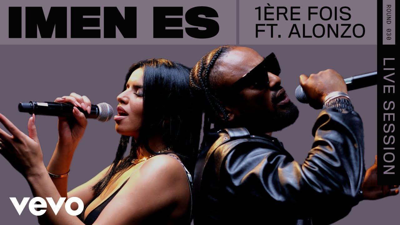 Imen Es - 1ère fois (Live) | ROUNDS | Vevo ft. Alonzo
