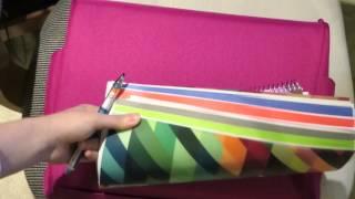 MiquelRius Notebook and Kuru Toga Mechanical Pencil