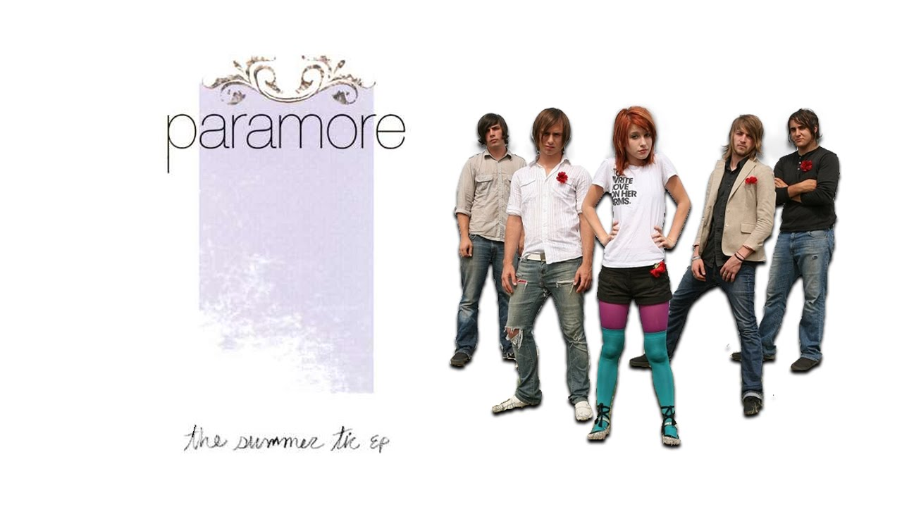 Paramore The Summer Tic Paramore - The Summer ...