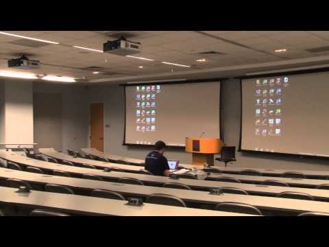 Inside Fox School of Business rough
