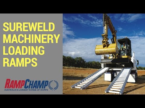 Sureweld Machinery Loading Ramps from Ramp Champ