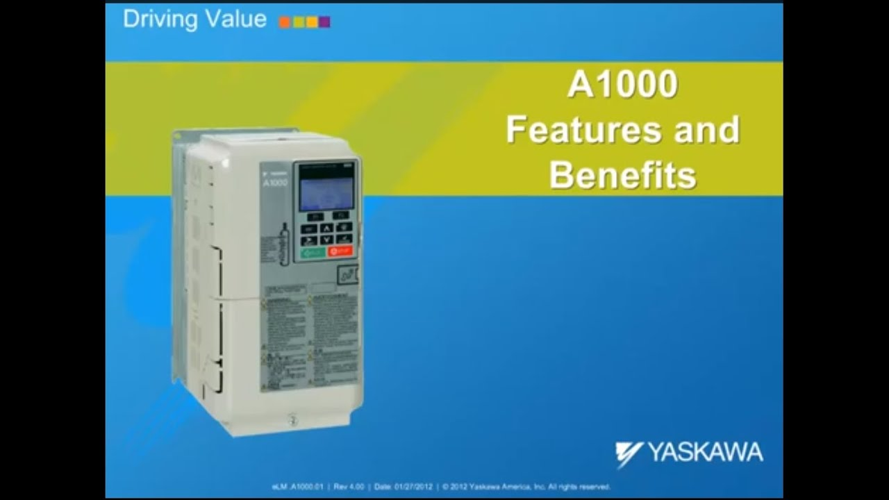 A1000 Features And Benefits