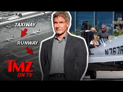 Harrison Ford Didn't Land His Plane on the Runway   TMZ TV
