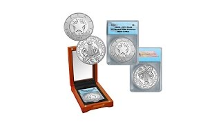 2015 PR70 ANACS U.S. Marshals Service Silver Coin