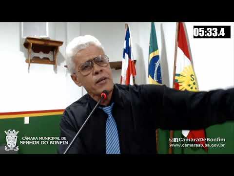 RESUMO DA SESSÃO ORDINÁRIA DA CÂMARA MUNICIPAL DE SENHOR DO BONFIM DESTA TERÇA-FEIRA