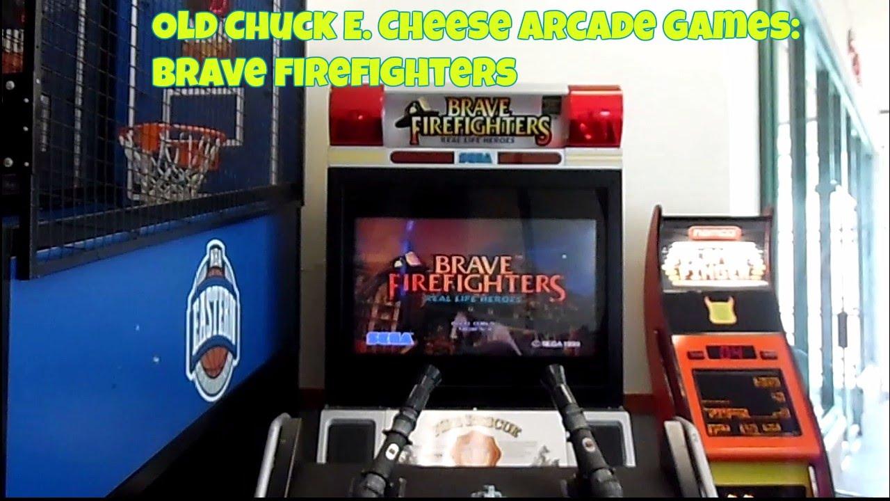 Chuck E. Cheese's Old Arcade Games SEGA Brave Firefighters