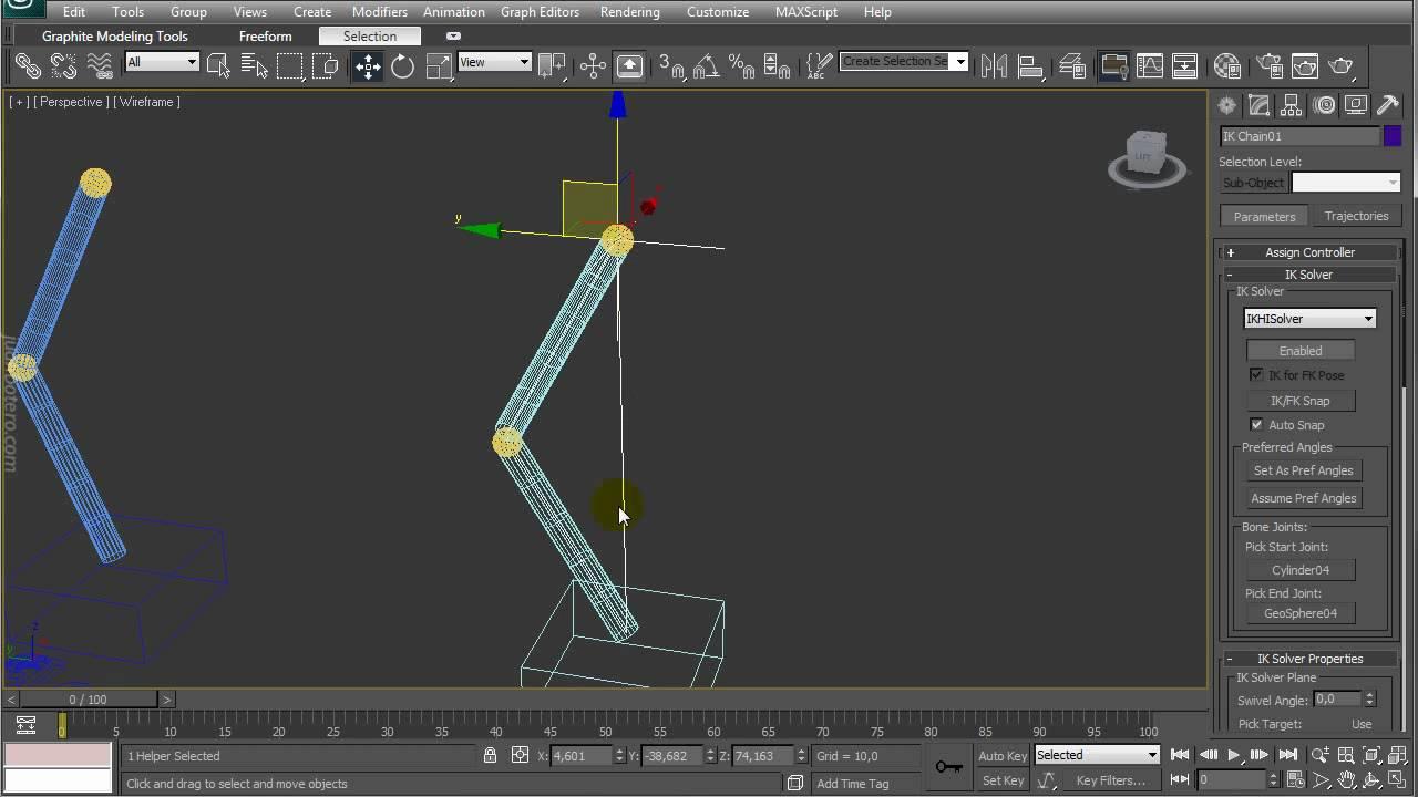 3d studio max rigging en espa ol hd part 1 of 6 youtube for 3d studio max