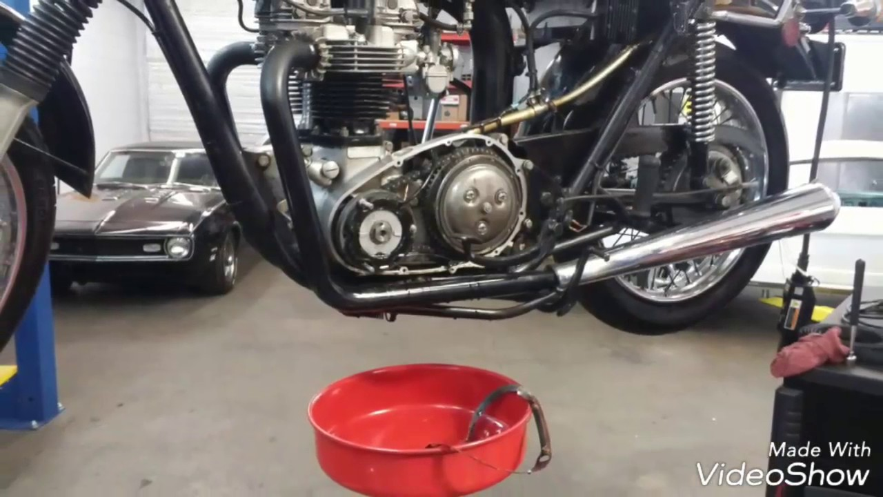 Triumph 650 Magneto Wiring Diagram 1962 Stator Replacing Bad And Alternator From 71triumph Tiger Youtube