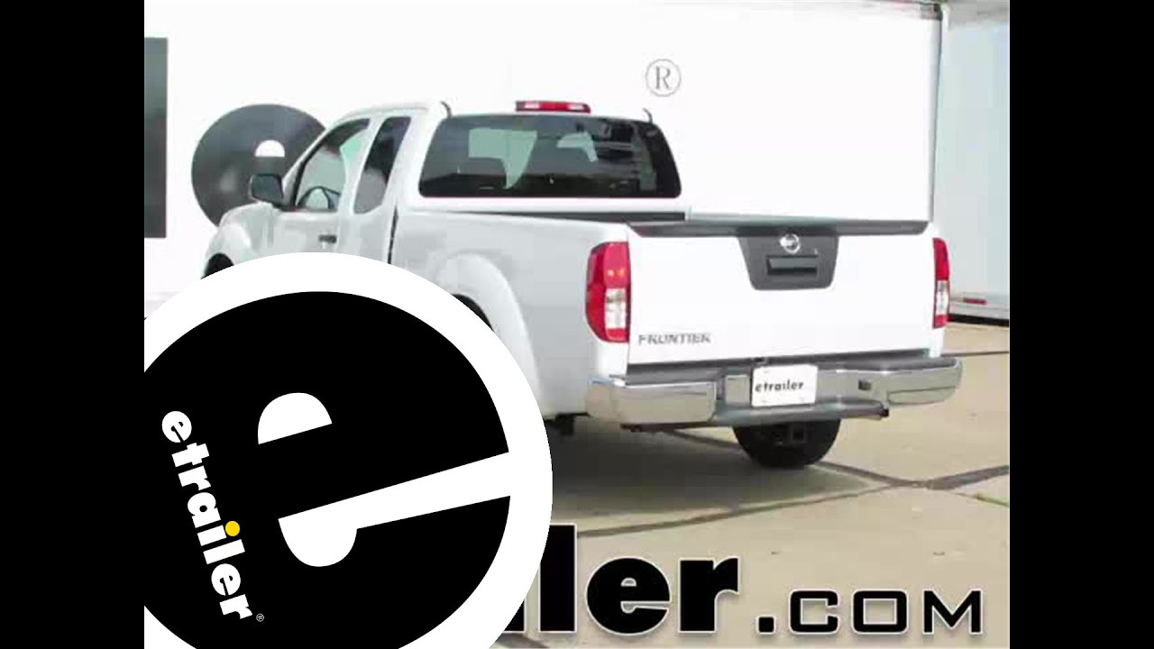 small resolution of trailer hitch installation 2015 nissan frontier curt etrailer com
