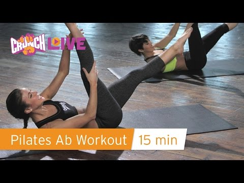 Crunch Live FREE 15 Minute Ab Workout