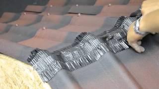 Ондувилла - инструкция по монтажу(Подробная видео инструкция по монтажу битумной черепицы Ондувилла. Укладка листов, забивание гвоздей,..., 2015-11-19T07:01:34.000Z)