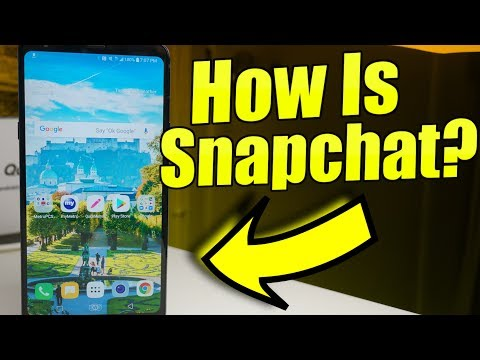 LG Stylo 4 | How Is Snapchat?