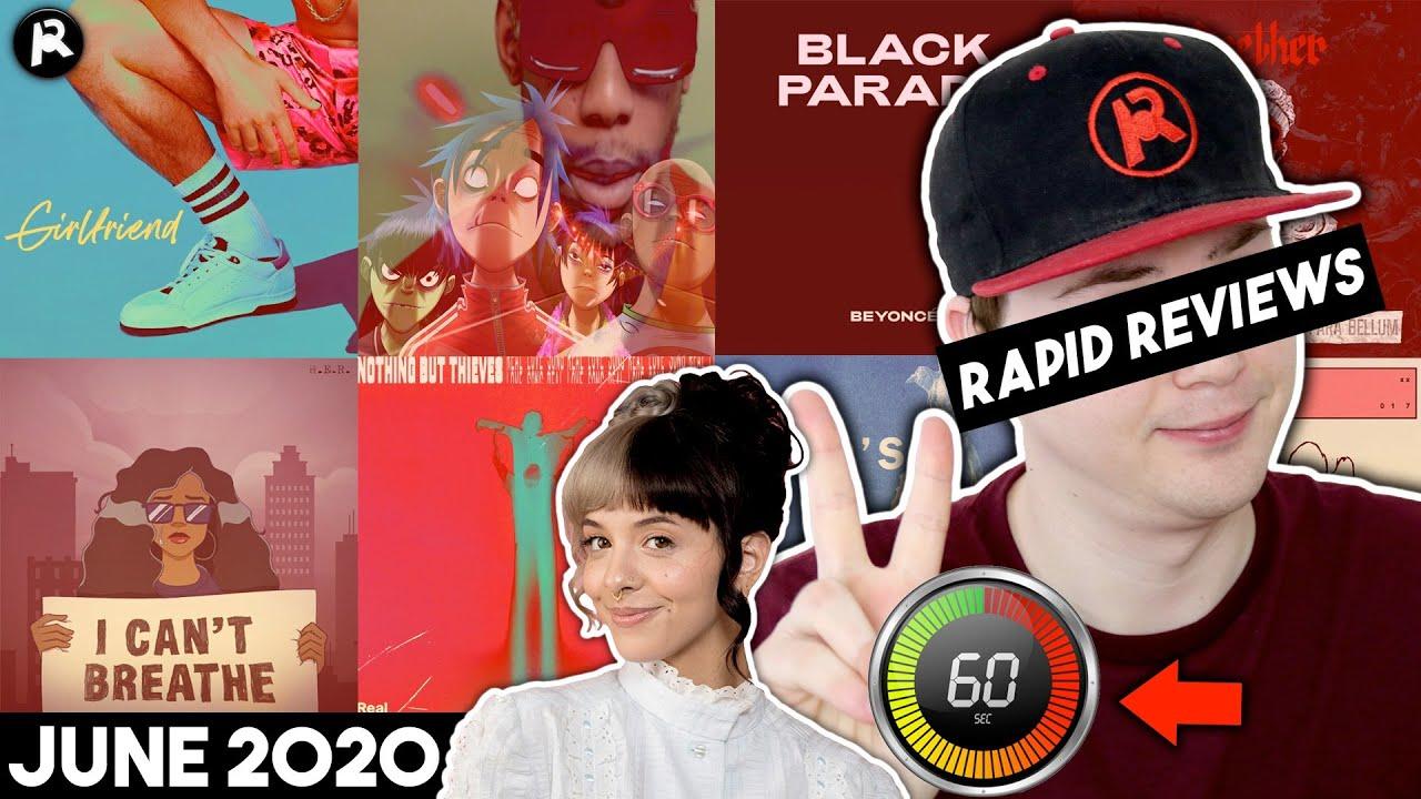 RAPID REVIEWS: Melanie Martinez, Kanye West, Idles, Beyoncé, Gorillaz, Fontaines D.C.