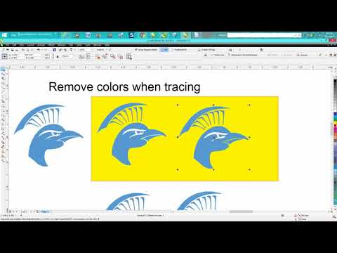 Corel Draw Tips & Tricks Trace clipart maybe a better way