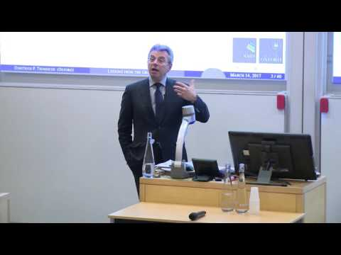 Professor Dimitrios Tsomocos: Greece, sovereign debt and renegotiation