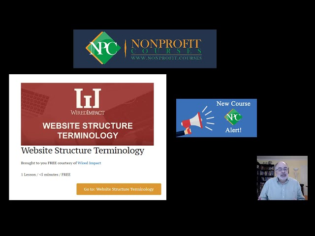 New Course Alert: Website Structure Terminology