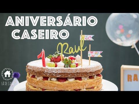 FESTA CASEIRA - Aniversário de 1 ano do Raul!