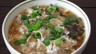 Японская кухня: Японский суп с птицей