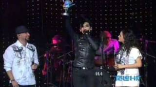 Tokio Hotel Wins Best International Rock Band!! @ Premios Telehit 12/11/09