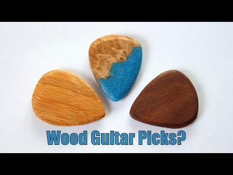 How Do You Make A Wooden Guitar Pick?