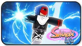 Roblox Shinobi Life 2 Lightning Release Element Buff Update Gameplay