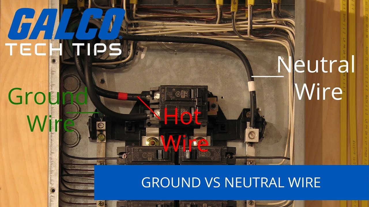 Differences Between Ground and Neutral Wires - A Galco TV Tech Tip on tube terminals, tube fuses, tube assembly, tube dimensions,