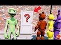 GUESS WHAT DAME TU COSITA IS HIDING FROM THE ANIMATRONICS! (GTA 5 Mods For Kids FNAF RedHatter)
