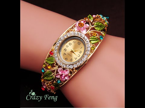 Pandora Женские часы браслет пандора - YouTube