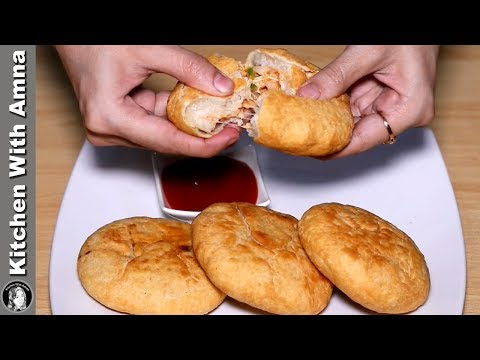 Pizza Kachori Recipe | Ramadan Recipes For Iftar | Kitchen With Amna