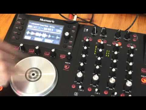 NUMARK NV TUTORIAL ON HOW TO USE THE TOUCH FX