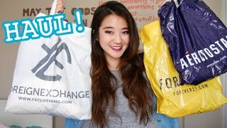 HAUL: VS, Aero, Forever 21, FE, & more! Thumbnail