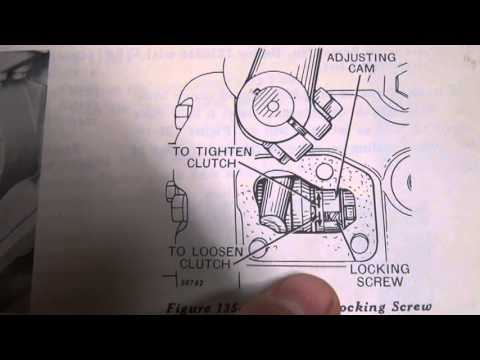 Massey Ferguson 165 Parts Diagram Smoke Detector Wiring Pdf Part 33 - Pto Clutch Adjustment 1.mpg Youtube