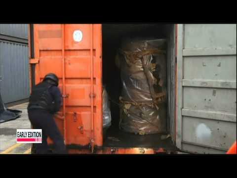 "More weapons found aboard seized N. Korean ship in Panama  파나마 ""북한 선박에서 미그21 엔진 12기도 발견"""