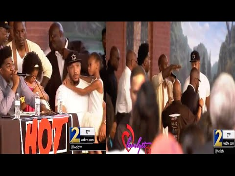 David Banner and Lyfe Jennings Get In To An Argument During A Town Hall Meeting