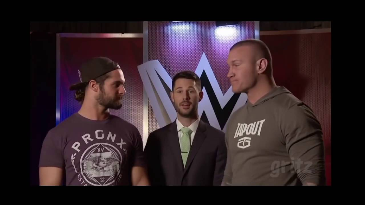 Seth Rollins and Randy Orton surprise me - WWE Swerved #1
