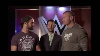 vuclip Seth Rollins and Randy Orton surprise me - WWE Swerved