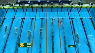 27th SEA GAMES MYANMAR 2013 - Swimming 14/12/13