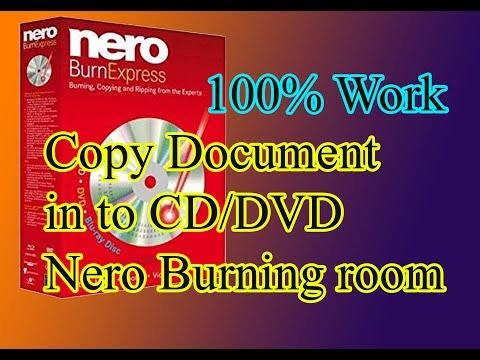 how to make data document on cd/dvd , copy document to disk