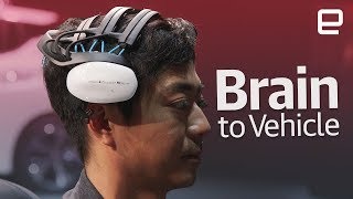 Nissan's Brain to Vehicle Concept first look at CES 2018