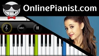 Ariana Grande - Break Free ft. Zedd - Piano Tutorial & Sheets (Easy Version)