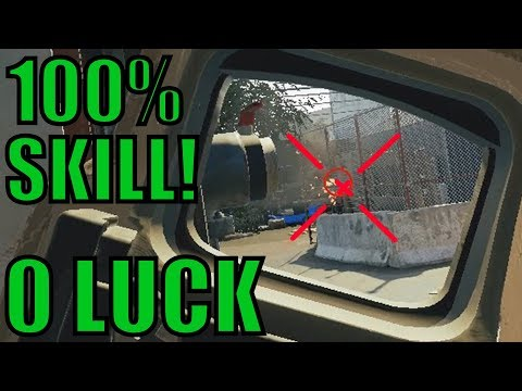 Too Much SKILL! (Not Luck) - Rainbow Six Siege Gameplay