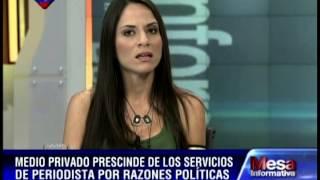 Daniela Rivas, periodista de Deportes de Meridiano TV, despedida por su apoyo a Maduro