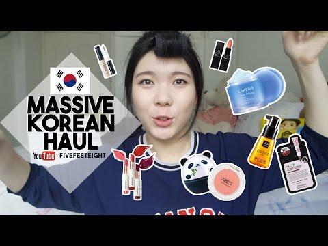 MASSIVE KOREAN HAUL + TWICE SPRIS SNEAKERS | FIVEFEETEIGHT