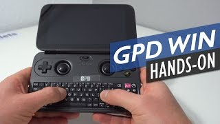 GPD Win Unboxing & First Look Review UMPC