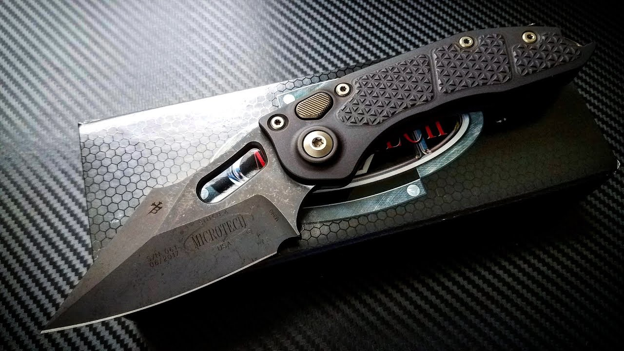Microtech Stich Unboxing - Blackened Borka Badassery