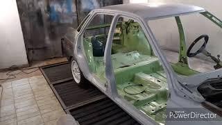 #COASTALGARAGE I Реставрация ВАЗ 2110 - Покраска