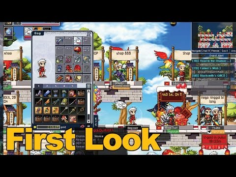 Soul Saver Online Gameplay First Look  MMOscom