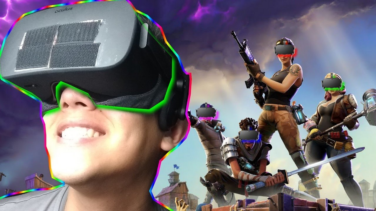 FORNITE EN VR | OCULUS RIFT