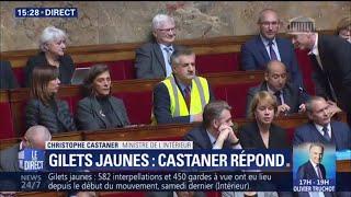 Jean Lassalle met un gilet jaune à l'Assemblée et provoque une suspension de séance